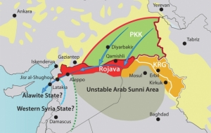 Rojava's Sustainability and the PKK's Regional Strategy, including access to the Mediterranean